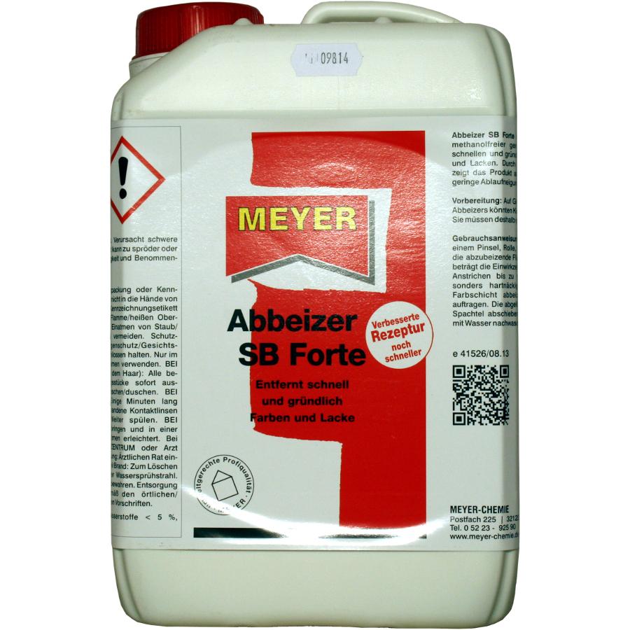 abbeizer sb forte 3 liter dose, entlacker, lösungsmittel, lackent