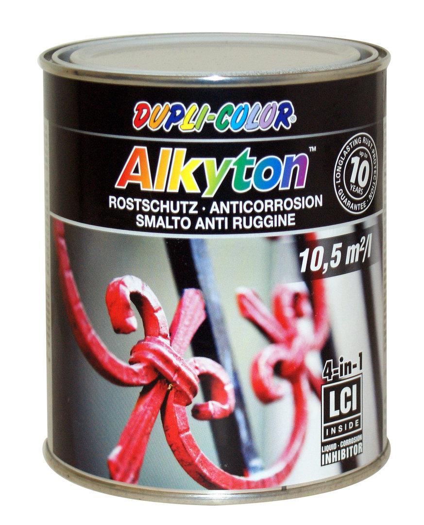 dupli alkyton 4in1 rostschutzlack einschicht ral 7016 anthrazitg. Black Bedroom Furniture Sets. Home Design Ideas