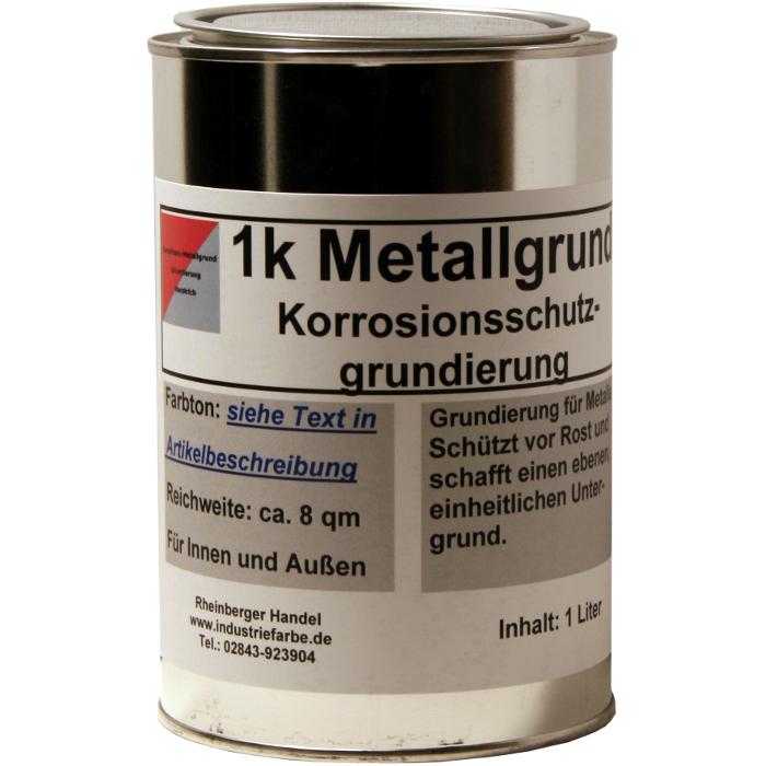 Bekannt Grundanstrich für Metall, Rostschutzgrund, Grundierung, 1 Liter K PN54