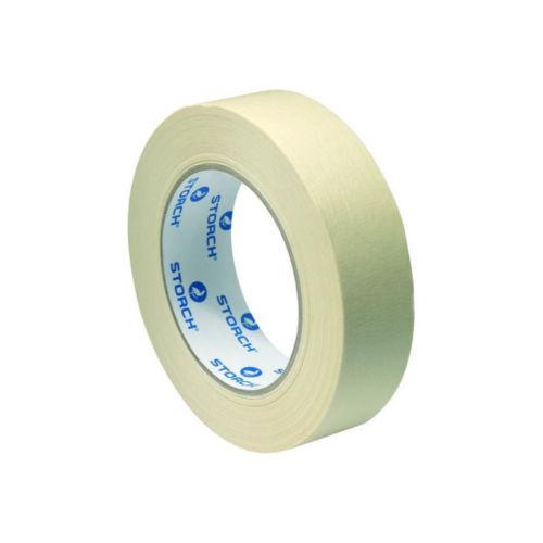 5 X Storch Papier Abklebeband Kreppband Feinkrepp Lackierband 18 Mm 50