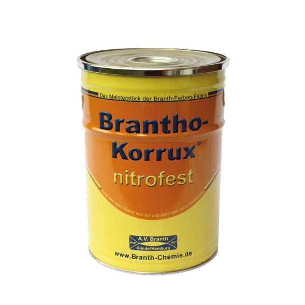 brantho korrux nitrofest ral 5010 enzianblau 5 liter. Black Bedroom Furniture Sets. Home Design Ideas